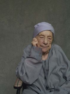 wmagazine:  Art legend Louise Bourgeois during the last year of her life. Photo by Alex Van Gelder, September 2010.
