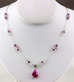 Jewelry Making Idea: Love Always Necklace (eebeads.com)  ~ FREE INSTRUCTIONS