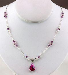 Jewelry Making Idea: Love Always Necklace (eebeads.com)