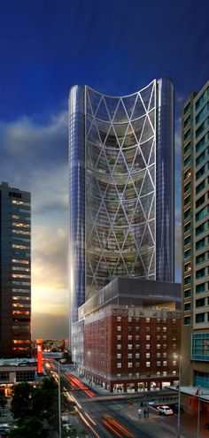 The Bow Tower, Calgary, Canada by Foster + Partners :: height 237m