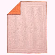 Full-Queen Stitched Moving Blanket (Pink)    The Land of Nod