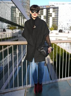 A Z A B A L A  CAPE - The best street styles of @080_barcelona_fashion by Lelook published in LOOKATME.ru