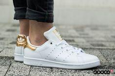 New in✨ Hoe pretty zijn deze Stan Smith sneakers? https://www.sooco.nl/adidas-stan-smith-w-witte-lage-sneakers-28748.html