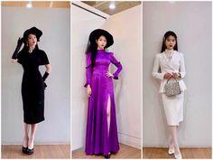Luna Fashion, Kpop Fashion, Korean Fashion, Fashion Beauty, Stage Outfits, Office Outfits, Dress Outfits, Fashion Dresses, Kpop Mode
