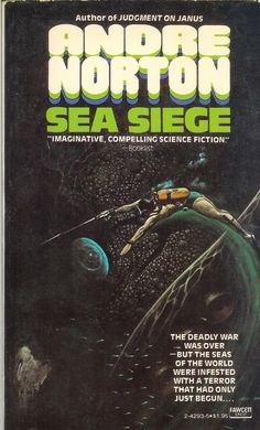 Sea Siege by Andre Norton (1981, Paperback)