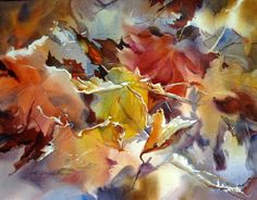 """Judy Greenberg """"In the Wind 2""""                 Collection of Mr. and Mrs. Burton Cohen"""