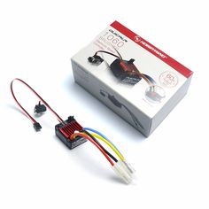 Hobbywing QuicRun 1060 60A Brushed ESC for 1/10 Brushed Speed Controllers RC car Waterproof