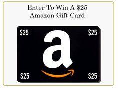 Win a $25 Amazon Gift Card! https://www.youtube.com/watch?v=SQxOdSsc55w&list=UUu9UOdsWTNRopIP-RSWuEDQ