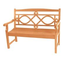 Chelsea Two Seater Teak Garden Bench