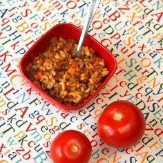 Homemade Baby Food: Bébé Bolognese for 9-12 Months, from NurtureBaby.com