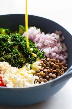 Quick Vegetarian Meals, Healthy Cooking, Healthy Salads, Healthy Eating, Green Lentil Salad, Dash Diet Meal Plan, Meal Prep, Lentil Salad Recipes, Heart Healthy Recipes