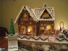 gingerbread house | Gingerbread House Hyatt Hotel California | Flickr - Photo Sharing!