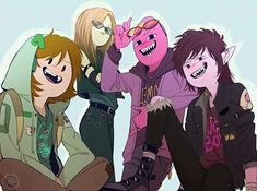 Adventure Time 709668853762943138 - Children ❤️ Simon (Bubbline's child) Joy (Finn's Descendant created by LS (Lumpylemon's child created by Yazz) Catelinn (Finntress child created by Steven Neily) Source by sashabiloregmailcom Adventure Time Anime, Adventure Time Fanfiction, Marshall Lee Adventure Time, Adventure Time Characters, Adventure Time Marceline, Princesse Chewing-gum, Sapo Meme, Character Art, Character Design