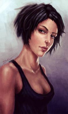 Black hair portraits (female) - 28c7dbd45f6212534c3f6465283788fc.jpg - Minus