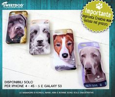 Personalized iPhone covers, Samsung Galaxy S3 covers - Cover personalizzate | https://www.facebook.com/SweetDogStore