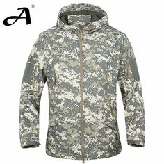 【 $39.14 & Free Shipping / Coupons 】Mens Army Camouflage Military Jacket Waterproof Windbreaker Raincoat Hunting Clothes Outdoor | Buying & Reviews on AliExpress