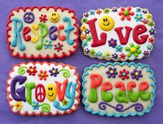 Cookie Words--It would be neat to make these but with the Fruitage of the Spirit on them for our picnics.