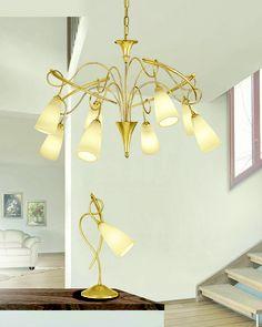 #Lampadario a soffitto e #lampada da tavolo. Scopri tutta la collezione qui --> http://www.lamexport.it/web/collections/?cat=vd