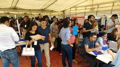 Todo un éxito de afluencia la Feria Nacional de Empleo para Jóvenes en El Palomar; 40 empresas ofertan más de mil vacantes