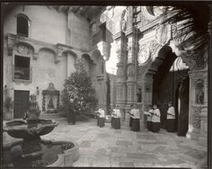 Christmas at The Mission Inn in 1931