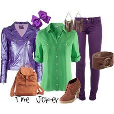 Joker inspired outfit