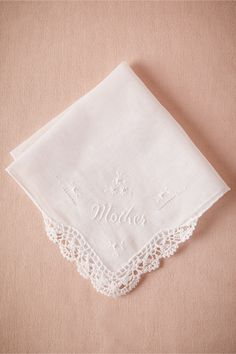 Mother Kerchief from BHLDN | a sentimental gift for the mother of the bride or groom
