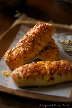 Cheese Bread : Lovely-Jubbly