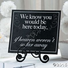 Keep loved ones you've lost close to your heart on your special day with this Memorial Wedding Sign. A heartfelt addition to your wedding decorations, . Wedding Signs, Our Wedding, Dream Wedding, Wedding Memorial Table, Motorcycle Wedding, Biker Wedding Theme, Biker Wedding Dress, Car Themed Wedding, Punk Rock Wedding