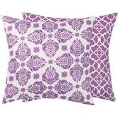 Found it at Wayfair - Lucky Violet Reversible Decorative Pillow