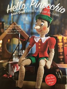 Excited to share the latest addition to my #etsy shop: Alan Dart's Pinocchio Knitting Pattern Cartoon Network Adventure Time, Adventure Time Anime, Alan Dart, Pinocchio, Modern Family Quotes, Cruella Deville, The Mindy Project, American Dad, Little Liars