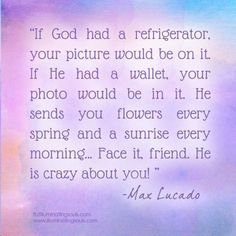 Image result for quotes by max lucado