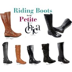 The perfect height riding boots for petite women.