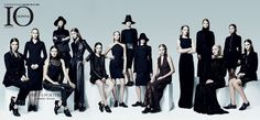 V.G.model management: Valeria Dmitrienko. Io Donna. September 2012. Ital...