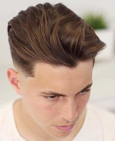 Brushed-Back-with-Undercut Stylish Undercut Hairstyle Variations in A Complete Guide Mens Hairstyles Fade, Popular Mens Hairstyles, Cool Hairstyles For Men, Undercut Hairstyles, Elegant Hairstyles, Cool Haircuts, Haircuts For Men, Men's Haircuts, Hairstyle Pics