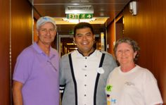 Our Stateroom Host! He took very good care of us! Awesome!!!!