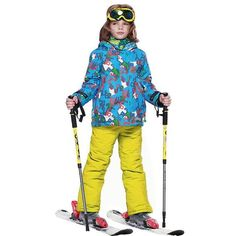 DETECTOR Warm Ski Snowboard Suit - Kid's