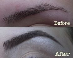 A Step-by-Step Guide to Perfectly Defined Brows! I needed something like this. Nervous to cut my eyebrow hairs though...
