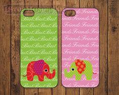 The Original Best Friends Elephant iPhone case