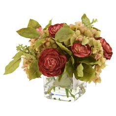 I pinned this Silk Hydrangea Arrangement II from the Distinctive Designs event at Joss and Main!