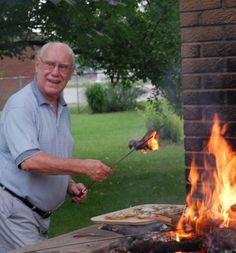 Bill roasting bacon