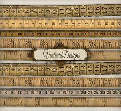 INSTANT DOWNLOAD Vintage Tape Measure instant by VectoriaDesigns, $2.80