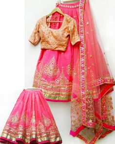 Pink Heavy Embroidered Lehenga Choli  Product Info: Code : KT2052 Dupatta : Nylon Net Lehenga : Banglori Silk Blouse : Banglori Silj  Inner : Satin Silj Work : Multi / Sequence / Hand  Price : 2800 INR Only ! #Booknow  CASH ON DELIVERY Available In India !  World Wide Shipping ! ✈  For orders / enquiry  WhatsApp @ +91-9054562754 Or Inbox Us , Worldwide Shipping ! ✈ #SHOPNOW  #fashion #salwarkameez #indianfahion #anarkali #bridalwear #salwarkameezusa #ethnic #onlinesh..