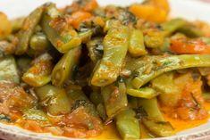 Συνταγή για φρέσκα φασολάκια λαδερά με τα τρια σημεία προσοχής για να βγει κάθε φορά τέλειο το αποτέλεσμα Greek Recipes, Veggie Recipes, 5 2 Diet, Ratatouille, Recipies, Kai, Beans, Food And Drink, Veggies