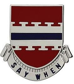 226th Engineer Battalion Unit Crest (Say When)