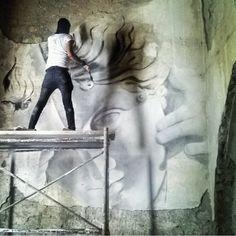 Urban Art, Surrealism, Contemporary Art, Street Art, Italy, Sculpture, Artwork, Painting, Instagram