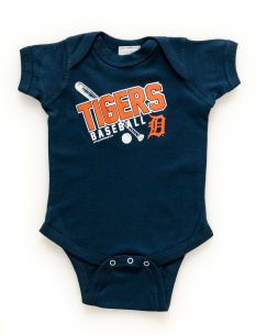 Detroit Tigers Mlb Baby Bodysuit