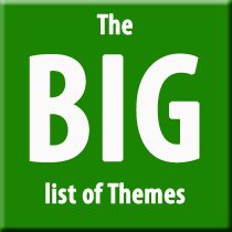 The big list of themes... For next year's editors! :)