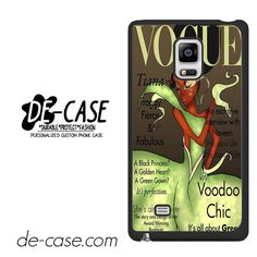 Tiana Disney Vogue Magazine DEAL-11217 Samsung Phonecase Cover For Samsung Galaxy Note Edge