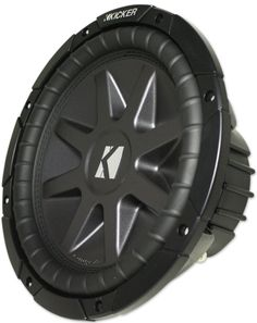 Kicker 10cvr12-4 2010 Comp Vr Series 12 Inch 4 Ohm Dual Voice Coil 800 Watt Car Subwoofer. This product is part of the Kicker Pro-Fit product group which is the highest end products offered by Kicker. Sensitivity: 86.9 dB. Sealed Box Volume 1.0 - 4.6 cubic feet. Stamped Steel Basket. Extra strong adhesive and stitching prevents the cone from getting separated from the surrounds.