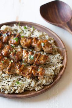 Mapel Dijon Glazed Chicken - the perfect combination of sweet and tangy with just a little bit of heat.